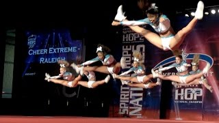 Cheer Extreme ~ SSX ~ Spirit of Hope 2017