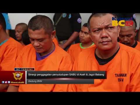 Sinergi Pengagalan penyeludupan Sabu di Aceh & Jagoi Babang