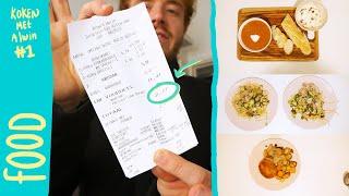 3 BUDGET Recepten Van €3! | Koken Met Alwin #1