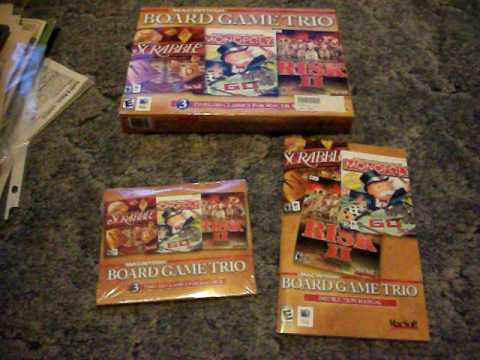 Macintosh Board Game Trio - Mac - *NEW*