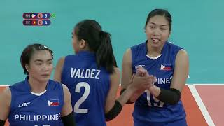 SEA Games 2019: PHL VS VIE Volleyball Women's Opener (Full)
