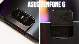 Asus Zenfone 6 ZS630KL: stock Android+ and a motorized flip camera!