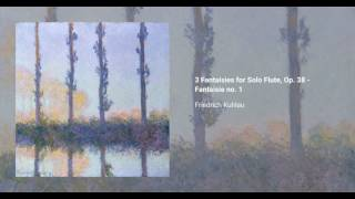 3 Fantaisies for Solo Flute, Op. 38