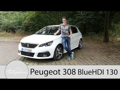 2018 Peugeot 308 BlueHDI 130 Fahrbericht / Ein zweiter Blick auf den sparsamen Diesel - Autophorie