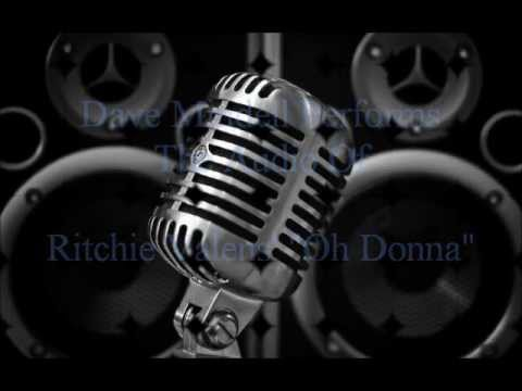 """Dave Mindell Performs """"Oh Donna"""""""