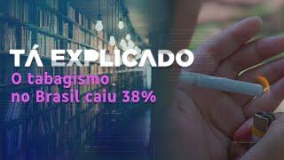 Sabia que, no Brasil, o hábito de fumar caiu 38% nos últimos 14 anos? | Tá Explicado