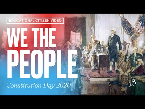 """""""We the People"""" – Ashbrook Celebrates Constitution Day 2020"""