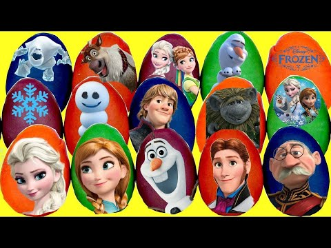 Disney Princess Play-doh Eggs with Frozen Anna Elsa & TROLLS Poppy