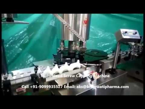 Rotary Capper Machine