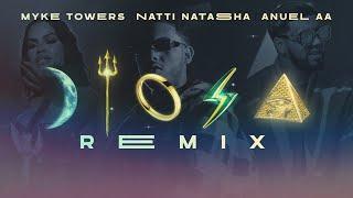 Myke Towers, Anuel AA & Natti Natasha - Diosa Remix (Video Oficial)