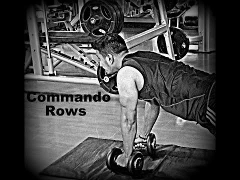 Commando Rows