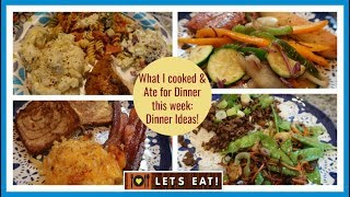 Dinners for the week | Lots of Dinner Ideas to Cook at Home!