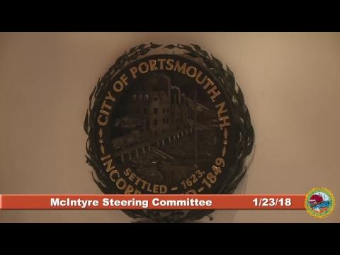McIntyre Steering Committee 1.23.2018