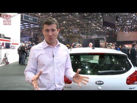 Kia Cee'd GT at the 2013 Geneva Motor Show - Auto Express