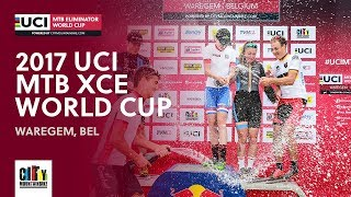 2017 UCI Mountain bike Eliminator World Cup - Waregem (BEL) full report
