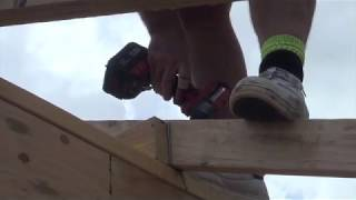 Ceiling Joist to Rafter Tie Down