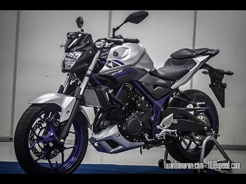 Yamaha MT25 close view (Indonesia)
