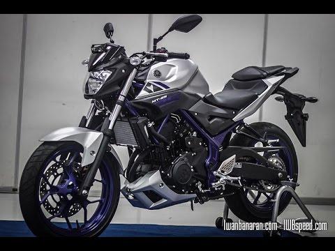 Yamaha MT25 close view (Indonesia)