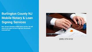 Traveling Notary | Find A Notary Public | Notary Near me | NJ Notary | (609)-531-3609