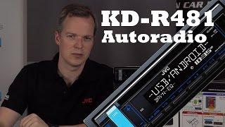 JVC KD-R481 Autoradio Vorstellung - CD MP3 USB Radio - just-SOUND