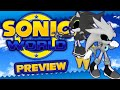 Sonic World R6 -  Metal Shadow And Metal Silver Preview