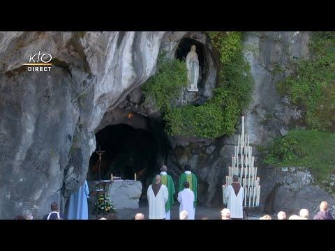 Messe de 10h à Lourdes du 19 juillet 2021