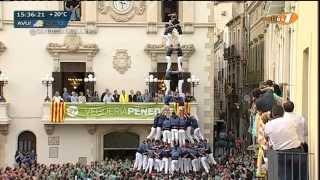 preview picture of video 'Capgrossos de Mataró a Vilafranca del Penedès -  2d9fm   (Diada de Tots Sants, 1-11-14)'