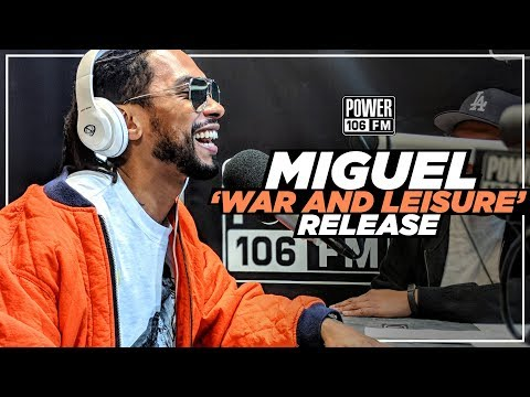 Miguel - 'War And Leisure' Release, Spanish Album, Marijuana, And More!