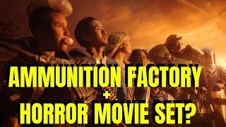 Fallout 76 (Part 26) CLAIMING AMMUNITION FACTORY + HORROR MOVIE SET LOCATION