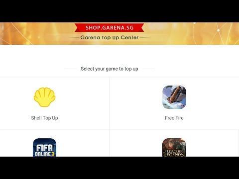 Download How To Topup On Freefire Using Garena Shells Ph Version