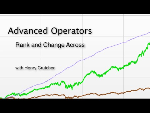 7. Advanced Operators: Rank and Change