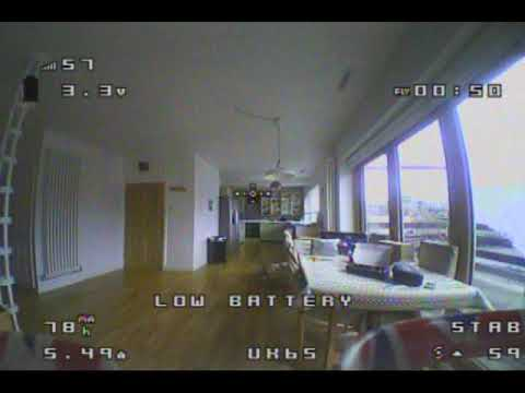 Eachine US65 UK65 FPV footage from Banggood