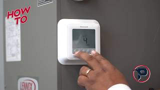 How-To Lock and Unlock your Honeywell T6 ProSeries Thermostat