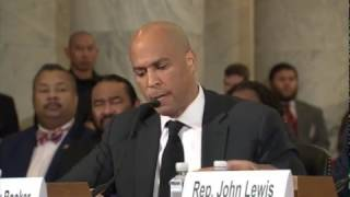 FULL: Senator Cory Booker testifies against Senator Jeff Sessions | Kholo.pk