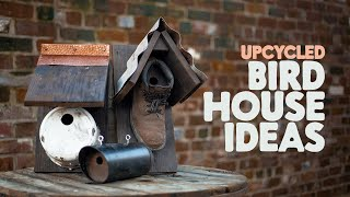Upcycled Birdhouse Ideas