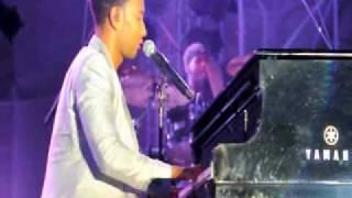 "John Legend performs ""Hard Times"" live (Seaside Summer Concert Series)"