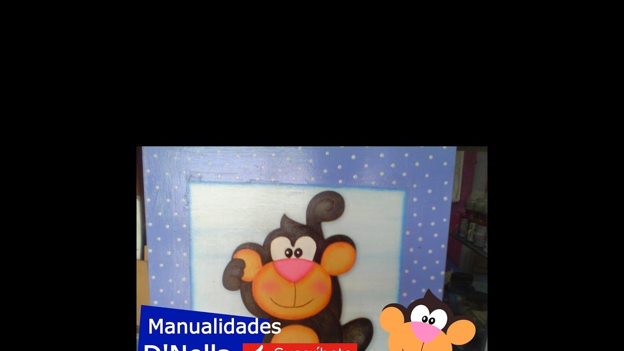 """Manualidades;Cuadros infantiles de Trupan-By """"Taller Nella"""" 2015"""