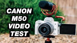 Canon M50 Video Test (4K And Slow Motion)