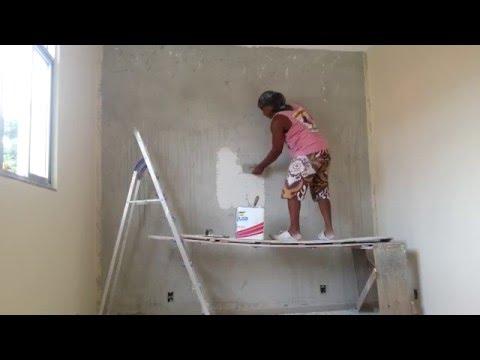 Passar textura na parede