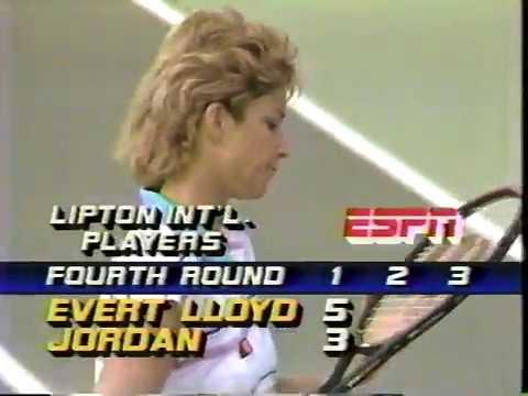 Chris Evert d. Kathy Jordan Lipton 1986 Part 2