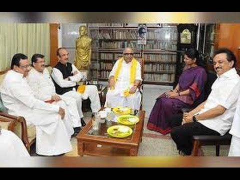 DMK-Congress-second-round-of-seat-sharing-talks-underway