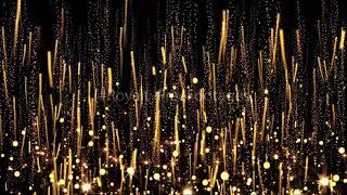 Birthday party background, golden celebration background video, golden particles overlay, #particles