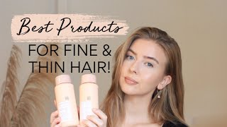 BEST PRODUCTS FOR FINE/THIN HAIR 2019