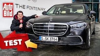 [AUTO BILD] Mercedes S-Klasse (2021) | So fährt sich die Stuttgarter Top-Limousine