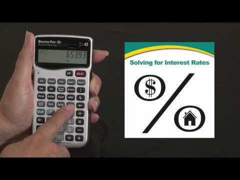 Qualifier Plus IIIx - Solving Interest Rates