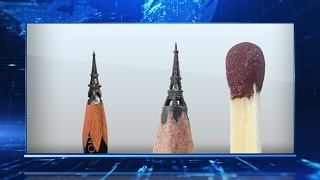 Башкирский художник создает настоящие произведения искусства в миниатюре