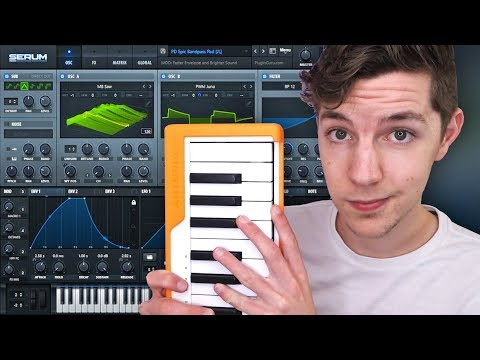 How to make the Most Important Sounds in EDM (beginner synth tutorial)