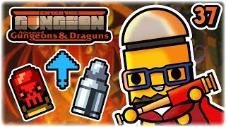 Blessing and a Curse Synergy | Part 37 | Let's Play: Enter the Gungeon Advanced Gungeons and Draguns