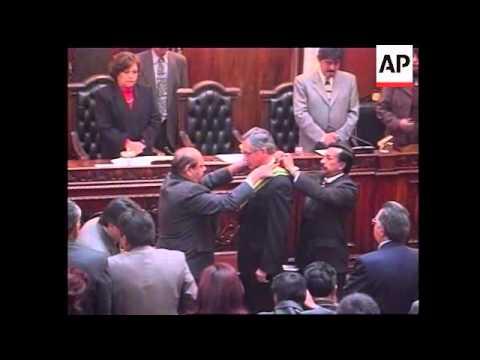 President Eduardo Rodriguez sworn  in