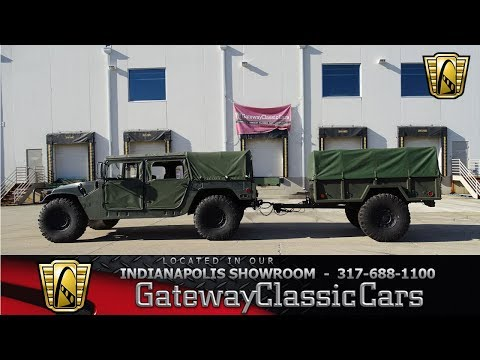 Video of '87 AM General Hummer Offered by Gateway Classic Cars - Indianapolis - MFCX